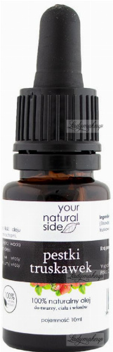 Your Natural Side - 100% naturalny olej z pestek truskawek - 10 ml