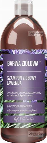 BARWA - HERBAL LINE - Herbal Shampoo - Lavender - 480 ml