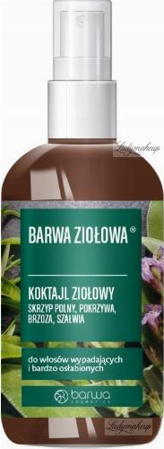 BARWA - BARWA ZIOŁOWA - Koktajl Ziołowy do włosów osłabionych i bardzo wypadających - 95 ml