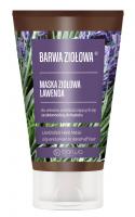 BARWA - BARWA ZIOŁOWA - Maska Ziołowa do włosów przetłuszczających i ze skłonnością do łupieżu - Lawenda - 120 ml