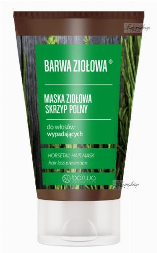 COLOR - HERBAL - Herbal Mask for falling hair - Field Horsetail - 120 ml