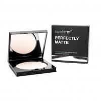 Swederm - PERFECTLY MATTE - Silky face powder - Jedwabisty, matujący puder do twarzy
