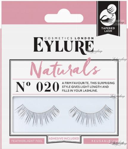 EYLURE - NATURALS - NR 020 - Rzęsy z klejem - efekt naturalny - 60 01 102