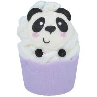 Bomb Cosmetics - Panda-Monium - Nawilżająca babeczka do kąpieli - PANDA-MONIUM