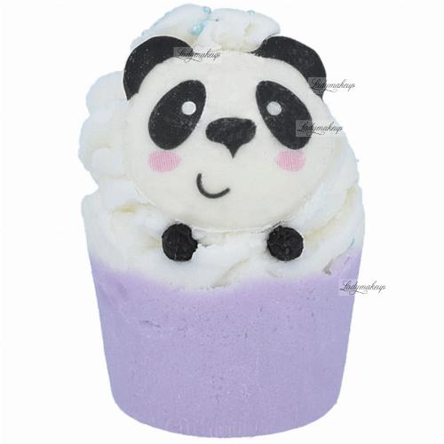 Bomb Cosmetics - Panda-Monium - Moisturizing bath cupcake - PANDA-MONIUM