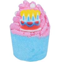 Bomb Cosmetics - Make a Wish - Nawilżająca babeczka do kąpieli - URODZINOWE ŻYCZENIE
