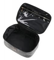 AURI - Large cosmetic bag - Kuferek - 444015 - Black & White - Medium