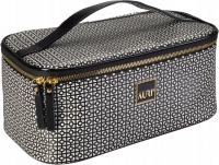 AURI - Large cosmetic bag - Kuferek - 444015 - Black & White - Medium