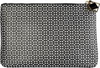 AURI - Kopertowa kosmetyczka - 444018 - Black&White - Średnia