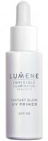 LUMENE - INVISIBLE ILLUMINATION - INSTANT GLOW UV PRIMER - Rozświetlająca baza pod makijaż - SPF30