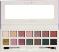 Sigma - ENCHANTED EYESHADOW PALETTE - 14 eyeshadows with a double brush