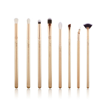 JESSUP - Classics Alchemy Series Brushes Set - Zestaw 8 pędzli do makijażu - T417 Golden/Rose Gold
