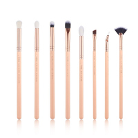 JESSUP - Classics Series Brushes Set - Zestaw 8 pędzli do makijażu - T457 Peach Puff/Rose Gold