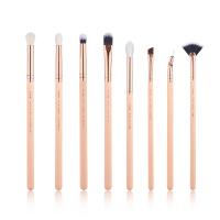 JESSUP - Classics Series Brushes Set - Zestaw 8 pędzli do makijażu - T457 Peach Puff/Rose Gold