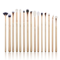 JESSUP - Classics Alchemy Brushes Set - Zestaw 15 pędzli do makijażu - T407 Golden/Rose Gold