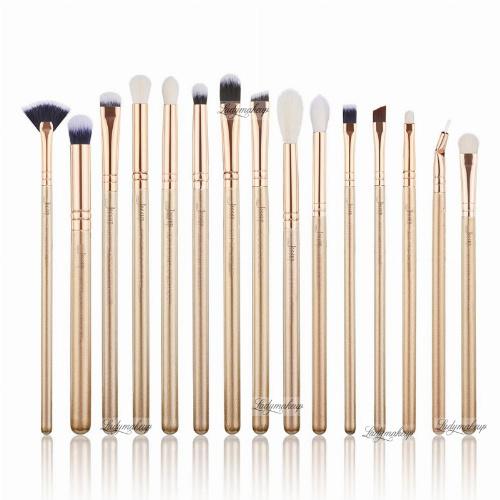 JESSUP - Classics Alchemy Brushes Set - Zestaw 15 pędzli do makijażu - T407 Golden/Rose Gold