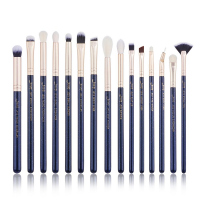 JESSUP - Classics Galaxy Series Brushes Set - Zestaw 15 pędzli do makijażu - T477 Prussian Blue/Golden Sands