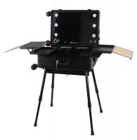 Przenośny stolik do makijażu / Stanowisko wizażysty LC015 - BLACK