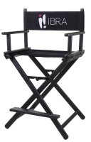Ibra - Makeup artist chair - Black