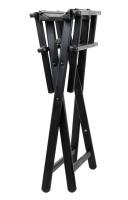 Ibra - Krzesło wizażysty do makijażu - Czarne
