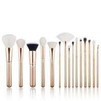 JESSUP - Classics Alchemy Brushes Set - Zestaw 15 pędzli do makijażu - T406 Golden/Rose Gold