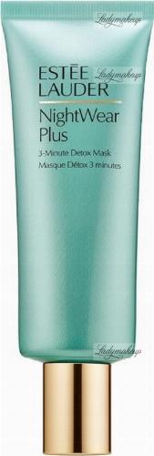 Estée Lauder - Night Wear Plus 3-Minute Detox Mask - Oczyszczająca maska do twarzy na noc - 75 ml