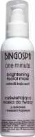 BINGOSPA - One Minute - Brightening Facial Mask - Brightening face mask with retinol and kojic acid - 135 g