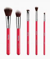 Practk® By Sigma Beauty® - All-Star Brush Set - Zestaw 5 pędzli do makijażu