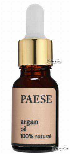 PAESE - ARGAN OIL - Olej arganowy - ELIKSIR MŁODOŚCI