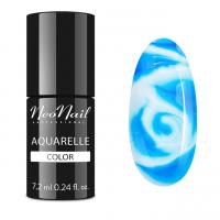 NeoNail - Aquarelle Color - Lakier Hybrydowy - 6 ml i 7,2 ml - 5752-7 - Ocean Aquarelle  - 5752-7 - Ocean Aquarelle