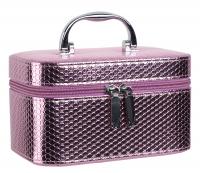 Inter-Vion - Metaliczny kuferek na kosmetyki - 415 207 - S