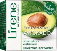 Lirene - Wygładzające Awokado - Odżywczy krem do twarzy na dzień i na noc - Wegański - 50 ml