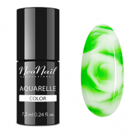NeoNail - Aquarelle Color - Lakier Hybrydowy - 6 ml i 7,2 ml - 5751-7 - Green Aquarelle  - 5751-7 - Green Aquarelle