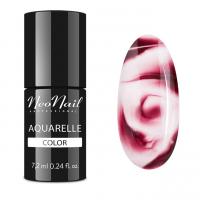 NeoNail - Aquarelle Color - Hybrid Varnish - 6 ml - 5756-1 - Brown Aquarelle  - 5756-7 - Brown Aquarelle