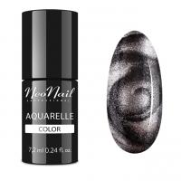 NeoNail - Aquarelle Color - Hybrid Varnish - 6 ml - 5772-7 - SILVER AQUARELLE - 5772-7 - SILVER AQUARELLE
