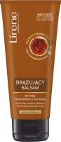 Lirene - BRONZE COLLECTION - BRONZING BODY BALM - Brązujący balsam do ciała z ekstraktem z bursztynu - Jasna Karnacja - ARABICA - 200 ml
