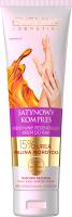 Eveline Cosmetics - SATYNOWY KOMPRES - Intensywnie regenerujący krem do rąk - 100 ml