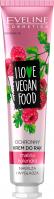 EVELINE - I LOVE VEGAN FOOD - Moisturizing and smoothing protective hand cream - Raspberry & Coriander - 50 ml
