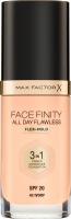 Max Factor - FACE FINITY ALL DAY FLAWLESS - Produkt 3 w 1. Baza, korektor i podkład - 42 - IVORY - 42 - IVORY