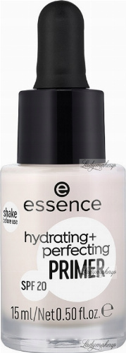 Essence - Hydrating + Perfecting Primer - Baza pod makijaż - SPF20 - 15ml