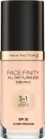 Max Factor - FACE FINITY ALL DAY FLAWLESS - Produkt 3 w 1. Baza, korektor i podkład - 10 - FAIR PORCELAIN - 10 - FAIR PORCELAIN