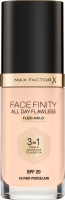 Max Factor - FACE FINITY ALL DAY FLAWLESS - Produkt 3 w 1. Baza, korektor i podkład