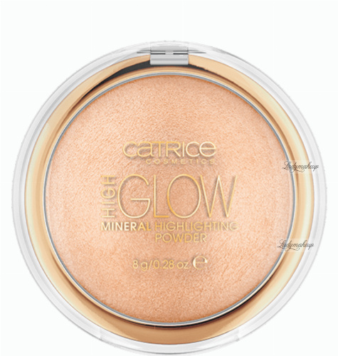 Catrice - High Glow Mineral Highlighting Powder - Wypiekany puder rozświetlający