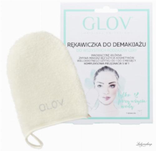 GLOV - Hydro Demaquillage - ON-THE-GO - Rękawica do demakijażu i oczyszczania skóry