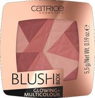 Catrice - BLUSH BOX - GLOWING + MULTICOLOUR - Illuminating, multi-colored blush - 020 IT'S WINE O' CLOCK - 020 IT'S WINE O' CLOCK