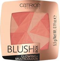Catrice - BLUSH BOX - GLOWING + MULTICOLOUR - Rozświetlający, wielokolorowy róż do policzków