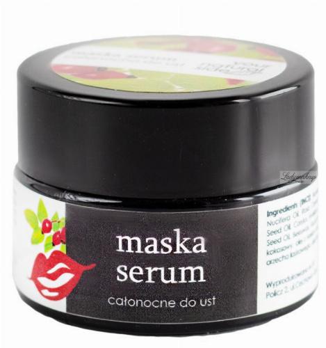 Your Natural Side - Maska-serum całonocne do ust - 15 ml