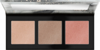 Catrice - LUMINICE HIGHLIGHT & BLUSH GLOW PALETTE - Paleta do makijażu twarzy - 010 Rose Vibes Only