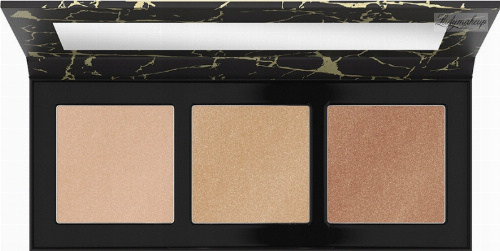 Catrice - LUMINICE HIGHLIGHT & BRONZE GLOW PALETTE - Contouring and highlighting palette - 020 Feel Gold