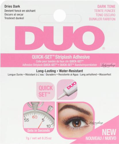 DUO - QUICK-SET Striplash Adhesive- Eyelash Adhesive 7g